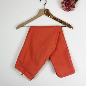 [CARTONNIER] Anthro Orange Ankle Pants